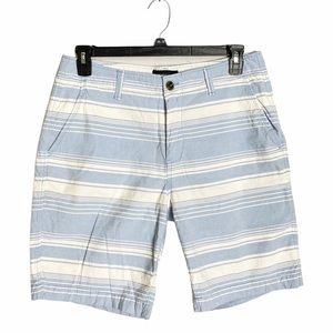 AEROPOSTALE Men's Blue Striped Shorts 33 Waist